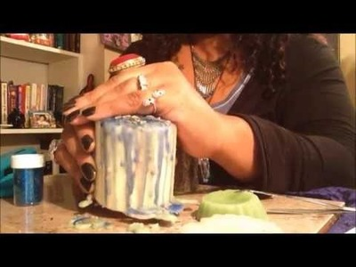 How to Make Drippy Spell Candles