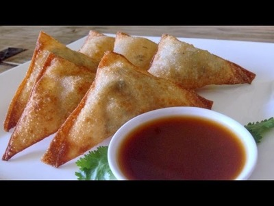 How to Make Potato Wontons and Spicy Dipping Sauce