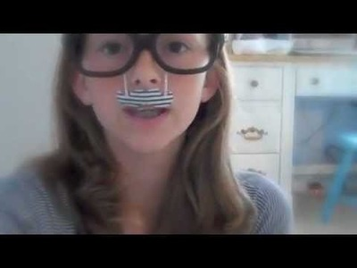 How to make your own Mustache Glasses