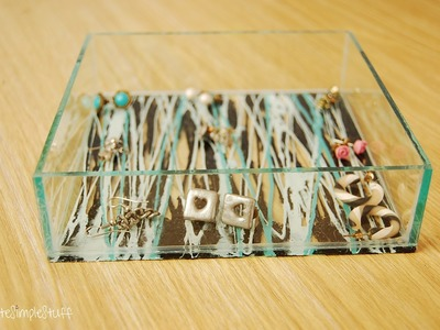 Jewelry Organizer Refashion