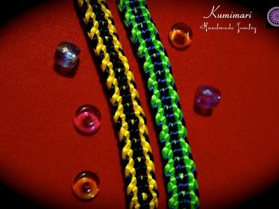 Kumimari 24: Kumihimo Bracelet for Men
