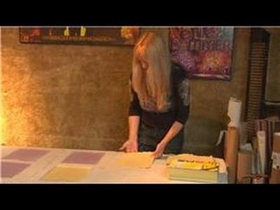 Making Handmade Paper : Handmade Paper Flattening