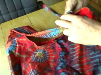 New Thaidye Tie-Strap Bag