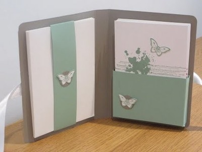 Notecard Set Tutorial with Gorgeous Grunge and Papillon Potpourri