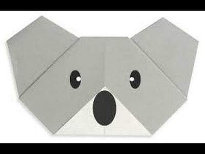 Origami For Beginners - Koala Bear Origami