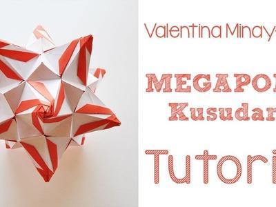Origami Megapolis Kusudama Tutorial