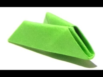 Reverse Folding To Make Stick Piece - 3D Origami Basics