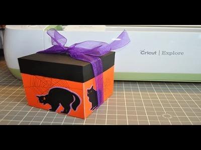 Spooky Halloween Explosion Box - Cricut Explore Tutorial