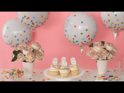 Throw a Sprinkle Party  - Martha Stewart
