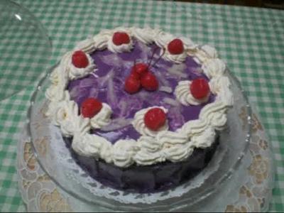 """""""Ube Cake"""""""