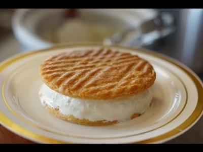 Vanilla Ice Cream & Sandwich - Bruno Albouze - THE REAL DEAL