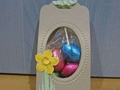 Easter Tag Treat Pouch
