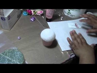 Fake Cupcake a mini tutorial