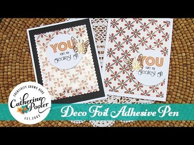 Foil Accents with the DecoFoil Adhesive Pen