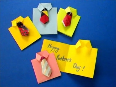 How to make easy Father's Day card