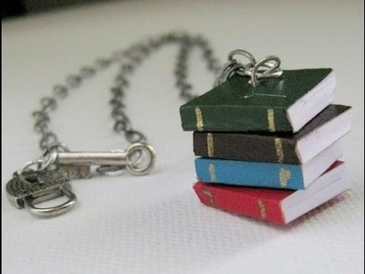 How To Make Mini Diary Book Keychain Crafts