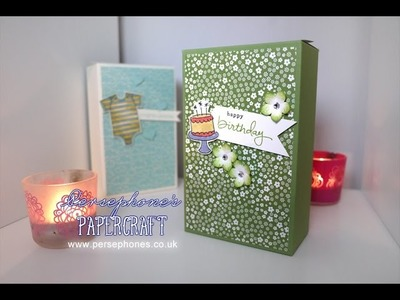 Large Gift Box | Stampin' Up (UK) with Persephone's Papercraft
