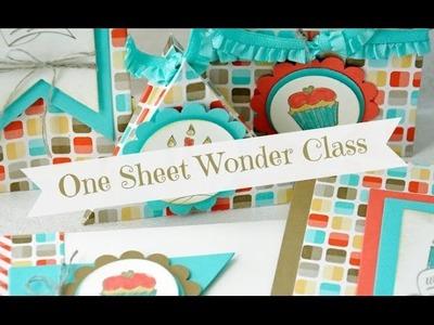 One Sheet Wonder Class