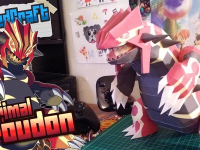 Pokemon Papercraft ~ Primal Groudon~