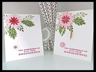 Simply Simple NOW or WOW - Flower Patch Awesomeness Card by Connie Stewart