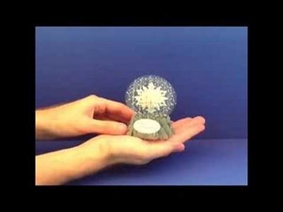 Snowflake Globe Greeting Card