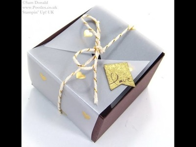 SPRINGWATCH Folded Vellum Chocolate Truffle Box Tutorial