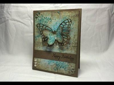 Stampin' Up! Butterflies and Layers and Texture, Oh My!