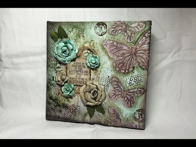 Stampin' Up! Meets Mixed Media