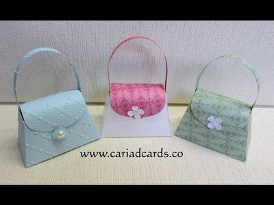Stampin Up petite purse die