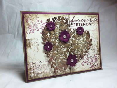 Stampin' Up! Timeless Textures and a Bloomin' Heart