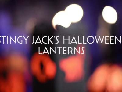 Stingy Jack's Halloween Lanterns SVG Bundle - Assembly Tutorial