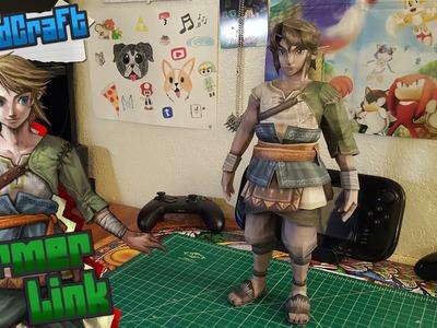 The Legend of Zelda Papercraft ~ Ranch Link ~