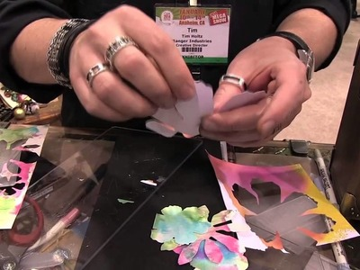 Tim Holtz - Bigz XL Jumbo Tattered Floral Die - CHA Winter 2014