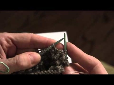 2015-09-07 Quill Stitch for Hedgehog Mitts (from Morehouse Farm)