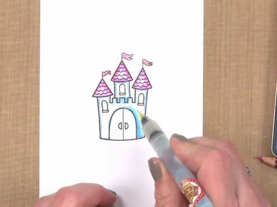 All About Stamping - Using Colored Pencils with Stamps: Color in Stamped Images with Colored Pencils