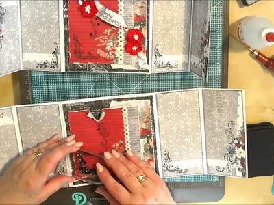 Back Double Gatefold Card - ScrapBerry's Elegy