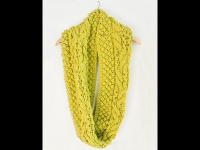 Chill Chaser Knit Cowl Tutorial