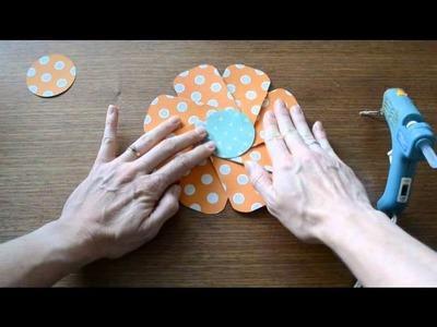 Flower Punch Board Garland