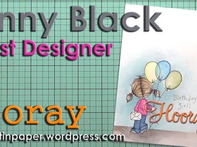 Guest Designer at Penny Black Hooray!