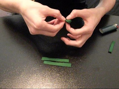 HOW TO: Make a Clover out of Ribbon Tutorial by JustAddABow