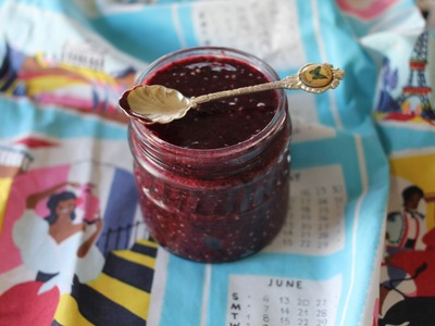 How to make SUGAR FREE Mixed Berry Chia Jam