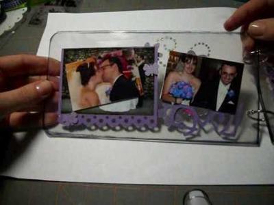 Let's Get Crafty: Episode #13: Acrylic Wedding Album Project