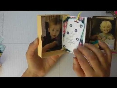 Scrappy Wednesdays: Accordion Fold Mini Album In A Box