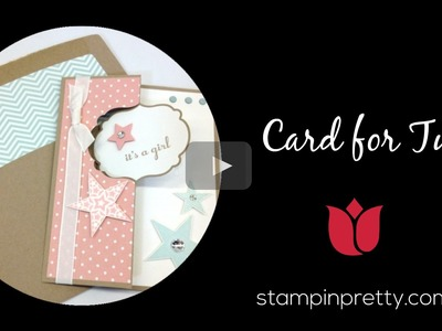Stampin' Up! Tutorial:  How to Create a Label Thinlits Die Twins Card