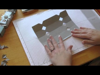 Stampin Up Video - How to make Crackers & work out the measurements with your Envelope Board
