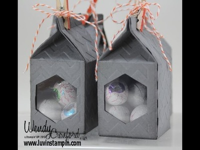 Trick or Treat Boxes with Stampin' UP! Mini Milk Carton Die