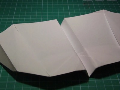 Tutorial paper airplane flapping wings (John Collins)