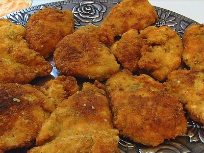 Betty's Fried Chicken Breast Cutlets  --  Mother's Day