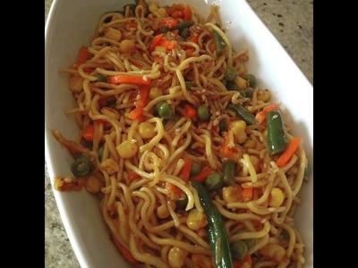 Easy Quick Veg Noodles Recipe ( Instant snack Ideas)