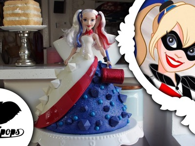 Harley Quinn | Doll Cake | DC Super Hero Girls